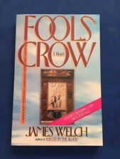 FOOLS CROW - ADVANCE READING COPY SIGNED BY JAMES WELCH