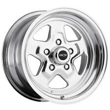 "Vision 521 Nitro 15x4 5x4.75"" -19mm Polished Wheel Rim 15"" Inch"
