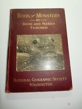 national geographic book of monsters 1914