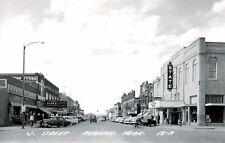 RPPC,Auburn,NE.J Street,State Theater,Nemaha County,L.L.Cook,c.1950s,Used,1966