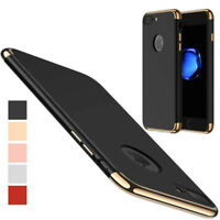 ShockProof 360 Hybrid Matte Slim Thin Case Cover For Apple iPhone 5 Se 7 6s Plus