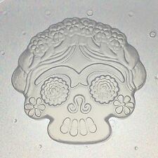 Flexible Resin Mold Frida Sugar Skull Day Of The Dead Girl Mould