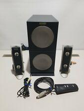 Altec Lansing Multimedia Speaker System 2100 powered subwoofer remote