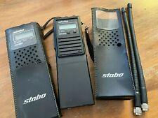 2 * CB Handfunkgerät Stabo SH 8000 Scan mit Tasche und Antenne!