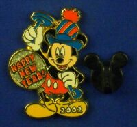 Mickey Mouse Happy New Year 2002 12 Months of Magic Pin # 8869