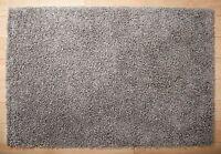 Silvery Grey Dominica Quality Deep Pile attractive Shaggy Rug - 160cm x 230cm
