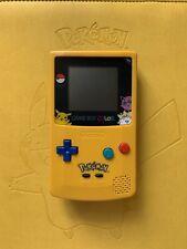 Refurbished Pokemon Pikachu Edition GBC Game Boy Color (Colour) Console (K)