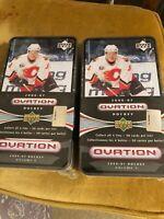 Lot of 2 2006-07 Upper Deck Ovation Hockey Tin Boxes Volume 4 Sealed MALKIN
