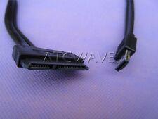 """2.5"""" 3.5"""" HDD Hard Disk Drive SATA 22Pin to USB combo DUAL Power ESATA Cable"""