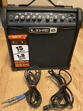 Line 6 Spider Iv - 15 watt combo guitar amplifier with 10ft Cable