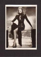 Marlene Dietrich 1950s Tobacco Movie Star Card