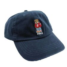 Polo Style Blue Baseball Cap Sports Hat Bear Outdoor Tennis Golf Sunhat 85
