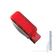 For Audi A3 A4 A5 A6 A7 A8 Q3 Q5 TT RS Skoda New Red Door Warning Light Lamp