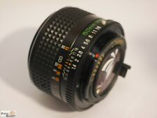 Mamiya Sekor Ef Lens 1,4/50 MM Ø 49 Standard Lens For SLR Camera 35 MM