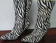 High (3 in. and Up) Mid-Calf Boots Unbranded Shoes for Women