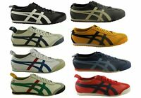 Mens Asics Onitsuka Tiger Mexico 66 Leather Lace Up Casual Shoes - ModeShoesAU