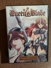Queens Blade Complete Series (THE EXILED VIRGIN & THE EVIL EYE) + All OVA's