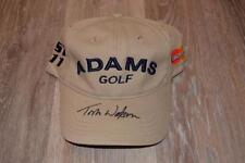 TOM WATSON signed ADAMS MASTERCARD Tour Issue Hat New