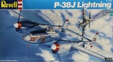 Revell 1:32 P-38 J P-38J Lightning Plastic Aircraft Model Kit #4749