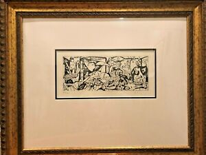 PICASSO,'GUERNICA' Signed. Numbered 26/100 RARE AUTHENTIC Da Vinci Art Group.