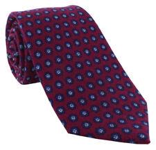 Michelsons of London Mini Medallion Wool Tie