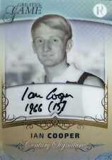 2017 Regal GREATS OF THE GAME Centurey Signature GOLD Ian COOPER #15/20 JUMPER #