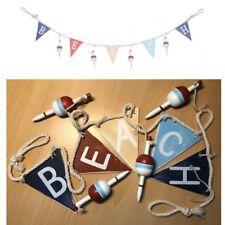 Beach Hanging Decoration - Rope Garland Nautical Bunting - Free 1st Class Post!