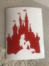 Little Mermaid Decal Sticker, Disney Castle, Ariel Sticker