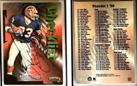 Antowain Smith Signed 1998 SkyBox Thunder #69 Card Buffalo Bills Auto Autograph
