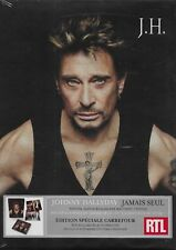 JOHNNY HALLYDAY COFFRET 1 CD*JAMAIS SEUL*EDITION COLLECTOR SPECIALE CARREFOUR