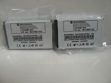 (Lot of 2) Original Motorola T720, T721, V810, E398, ROKR E1 Batteries SNN5699A