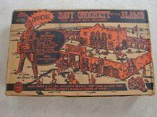 Marx 3544 Walt Disney Davy Crockett  Alamo Play Set / Original Box ( Box Only )
