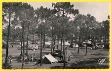 cpsm SAINT JEAN de MONTS (Vendée) CAMP CAMPING du TOURING CLUB Caravanes tentes