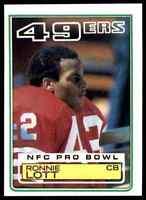 1983 Topps #168 Ronnie Lott HOF San Francisco 49ers / USC Trojans NICE