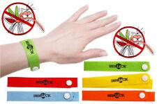 10 x Bracelet Anti-Moustiques Guêpes Abeilles Frelon Moustique 100% Naturel Neuf