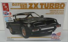 Datsun 280 Zx Turbo Sports Car Nos Fs 1980 White T Tops 1981 1/2 Amt Model Kit