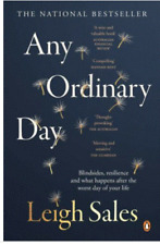 Any Ordinary Day by Leigh Sales.. Large Paperback  VGC+   G11