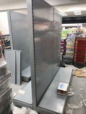 shop shelving gondola, Silver Grey , Retail Shelves 2 Meter High , £150 Each Bay