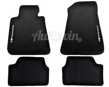 BMW 1 Series E87 E87 LCI Summer Carpets With Rubber Background M Performance