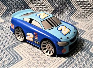 Mattel SHAKE N GO Racers Race Car #2 Blue