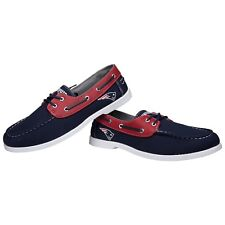 New England Patriots NFL Men's Side Logo Canvas Shoes FREE SHIP