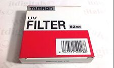 Genuine Tamron 62mm UV HAZE Lens Glass Protector Filter 62 mm Original OEM