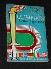 ***OLIMPIADI IN CIFRE 1896-1956*** OMAGGIO I.N.A. 1960