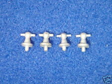 AM 14 Model Boat Fittings, White Metal Ball Cleat x 4  AM 14