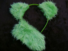 Apple Green Bear Ears And Tail Instant Animal Fancy Dress Costume Dress Up