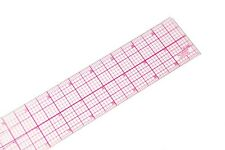 """C-Thru W-248 24"""" 8ths Graph Rulers,clear,plastic,great for pattern making & more"""