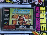 Striker Snes Super Nintendo Boxed  Retro Video Game