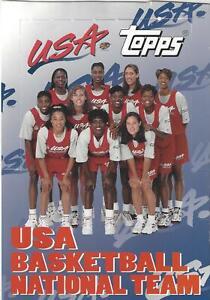 1995 TOPPS USA BASKETBALL NATIONAL TEAM SINGLES * YOU PICK * LESLIE STALEY WNBA