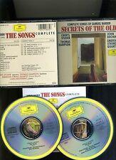 2 CD SET SECRETS OF THE OLD-SONGS OF SAMUEL BARBER-STUDER/HAMPSON/ DG- NR FN