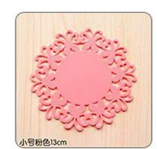 small Silicone Heat Insulation Coasters Mat Resistant Pad Non-Slip Cup Plac33333
